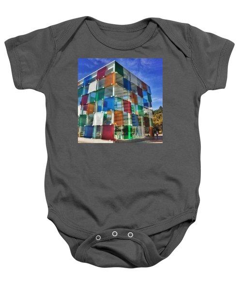 Centre #pompidou #malaga #museo #museum Baby Onesie