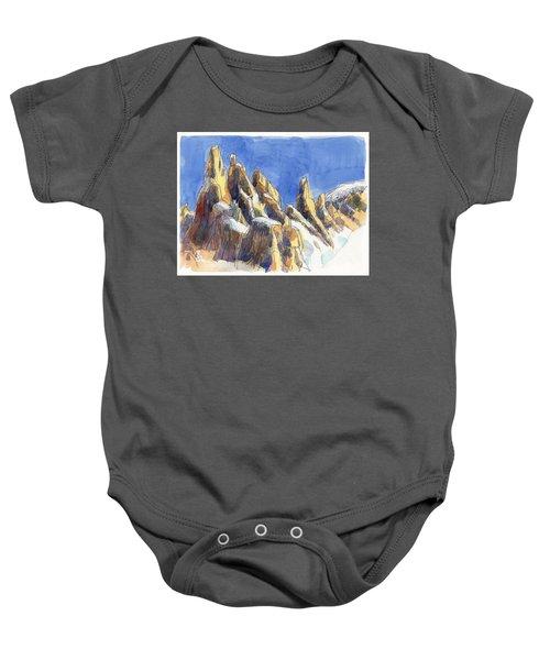 Cerro Torre, Patagonia Baby Onesie