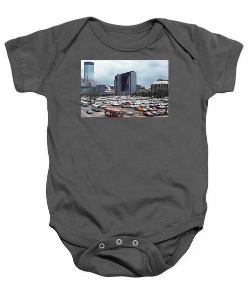 Changing Skyline Baby Onesie