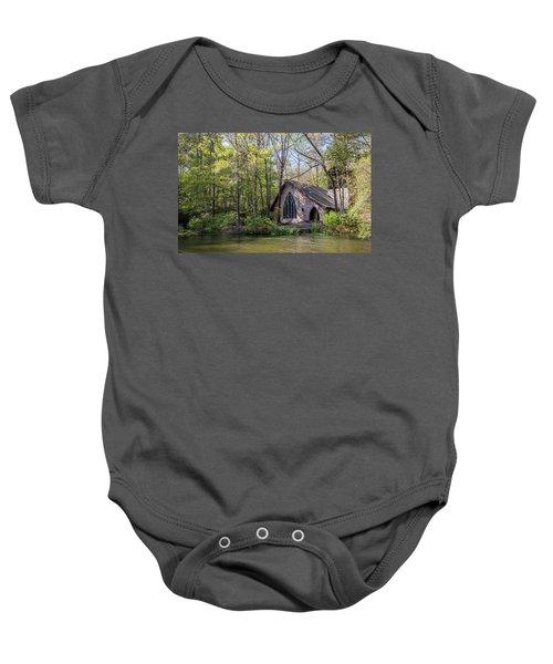 Chapel In The Woods Baby Onesie