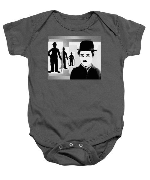 Chaplin, Charlie Chaplin Baby Onesie