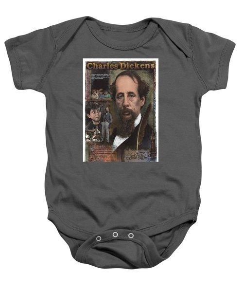 Charles Dickens Baby Onesie