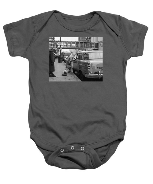 Chatting Up A Cabby On 7th Street Baby Onesie