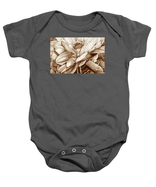 Chelsea's Bouquet 2 - Neutral Baby Onesie