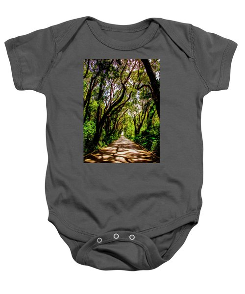 Cherry Tree Hill Baby Onesie