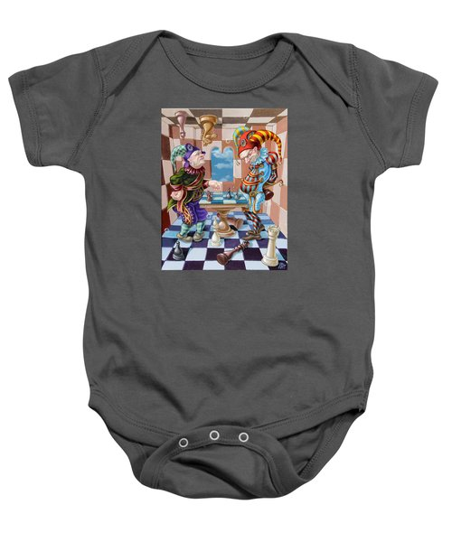 Chess Players Baby Onesie