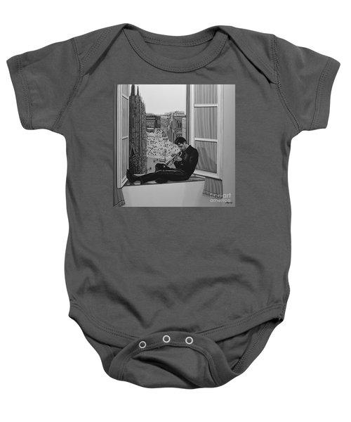Chet Baker Baby Onesie