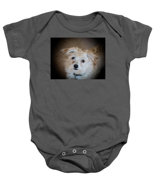 Chica On The Alert Baby Onesie