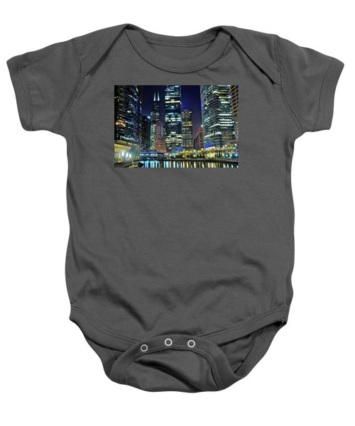 Chicago Towers 2017  Baby Onesie