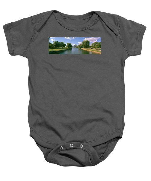 Chicago From Lincoln Park, Illinois Baby Onesie by Panoramic Images