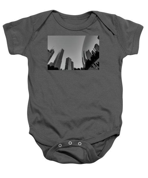 Chicago Reflections Baby Onesie