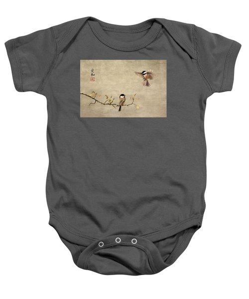 Chickadee Encounter II Baby Onesie