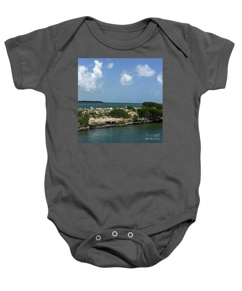 Chilling On The Water Baby Onesie