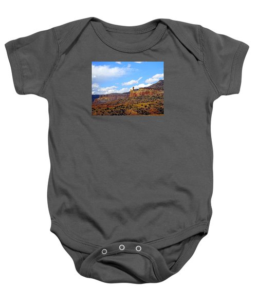 Chimney Rock Ghost Ranch New Mexico Baby Onesie
