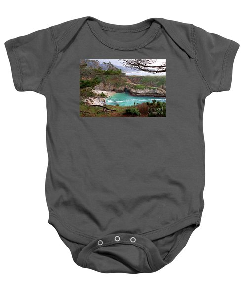 China Cove At Point Lobos Baby Onesie