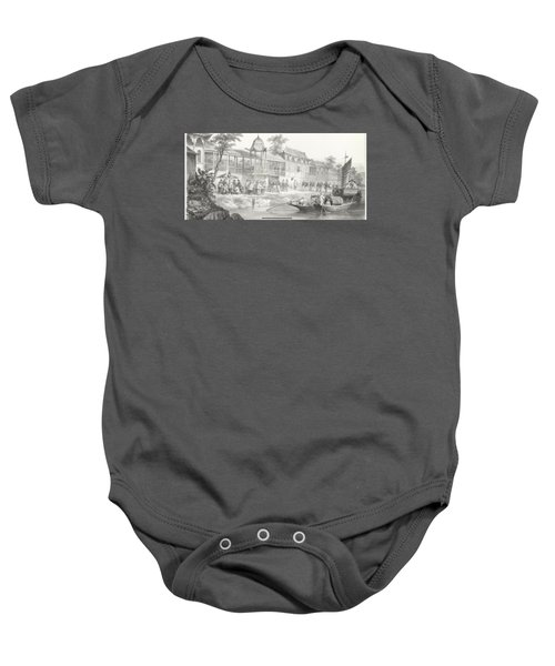 China War Baby Onesie