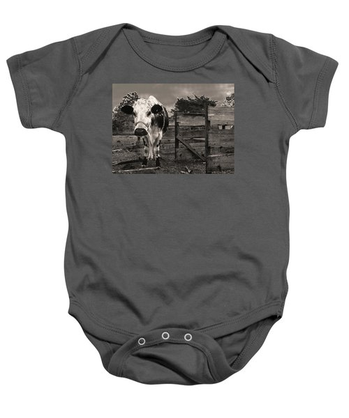 Chocolate Chip At The Stables Baby Onesie