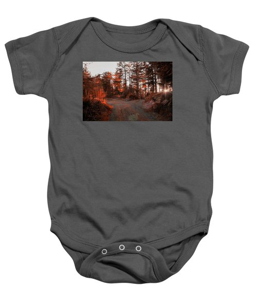 Choose The Road Less Travelled Baby Onesie