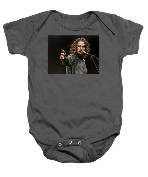 Chris Cornell Baby Onesie