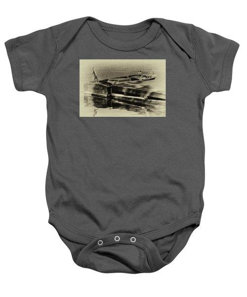 Vintage Chris Craft - 1958 Baby Onesie
