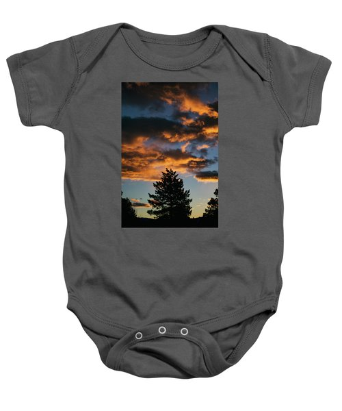 Christmas Eve Sunrise 2016 Baby Onesie