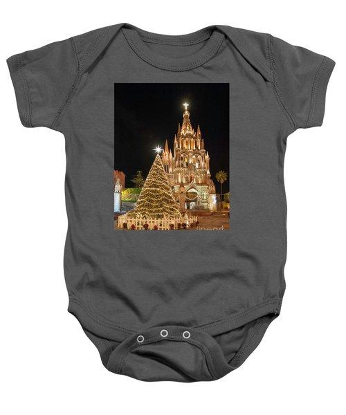Christmas In San Miguel Baby Onesie