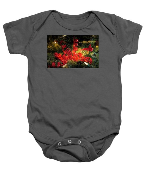 Christmas Red Baby Onesie