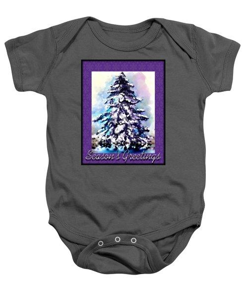Christmas Tree Baby Onesie