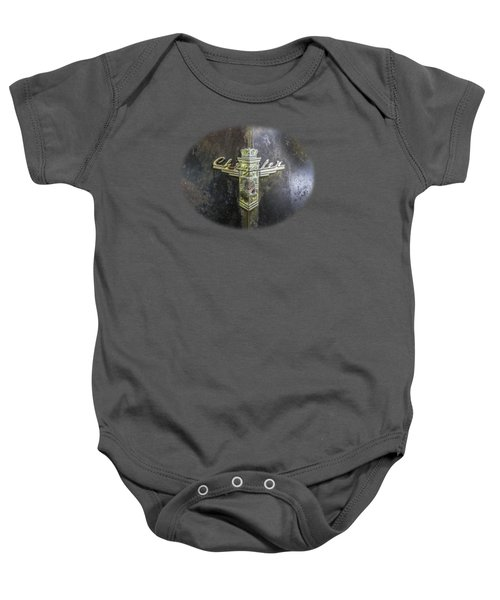 Chrysler Hood Ornament Baby Onesie