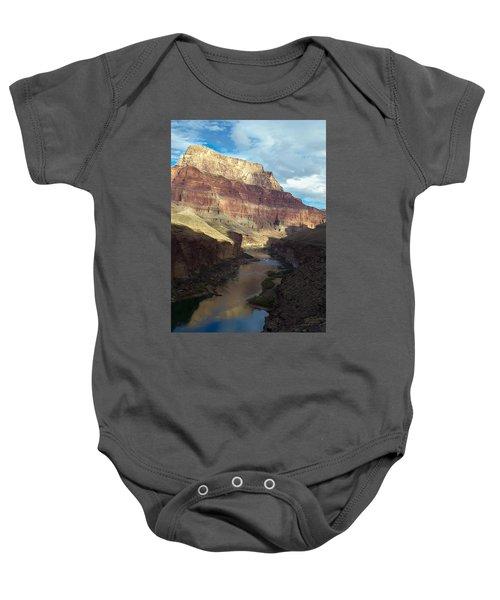 Chuar Butte Colorado River Grand Canyon Baby Onesie