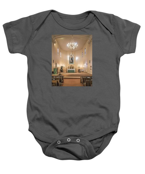 Church Of The Assumption Of The Blessed Virgin Altar Baby Onesie