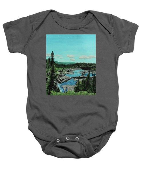 Churchill River Baby Onesie