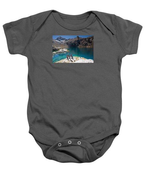 Churup Lake Baby Onesie