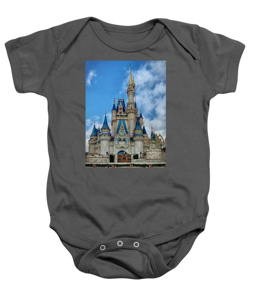 Cinderella Castle Baby Onesie