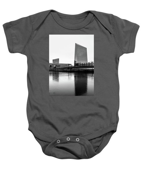 Cira Centre - Philadelphia Urban Photography Baby Onesie