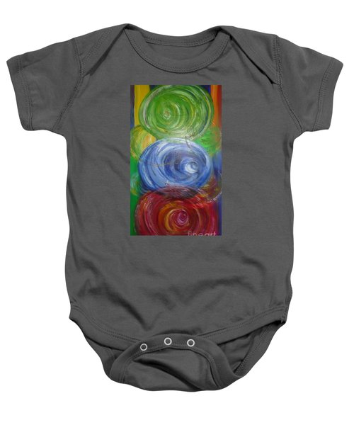 Concentric Joy Baby Onesie