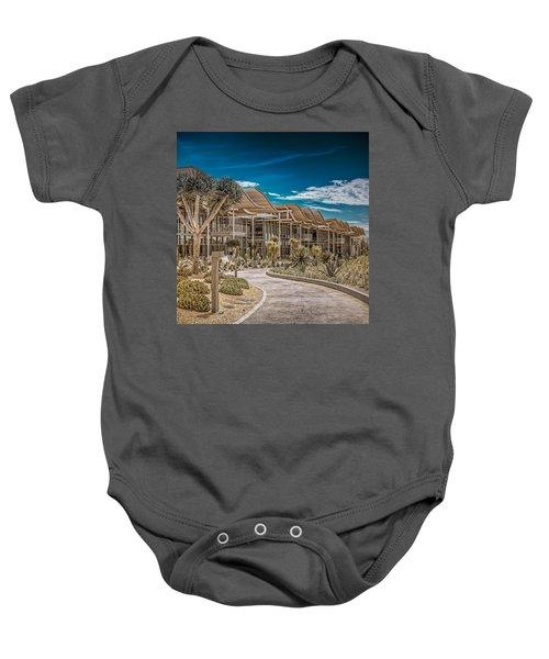 Newport Beach California City Hall Baby Onesie