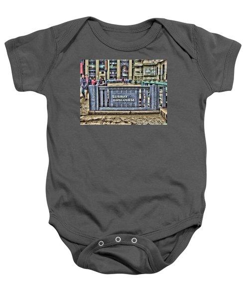 City Hall Sidewalk Baby Onesie