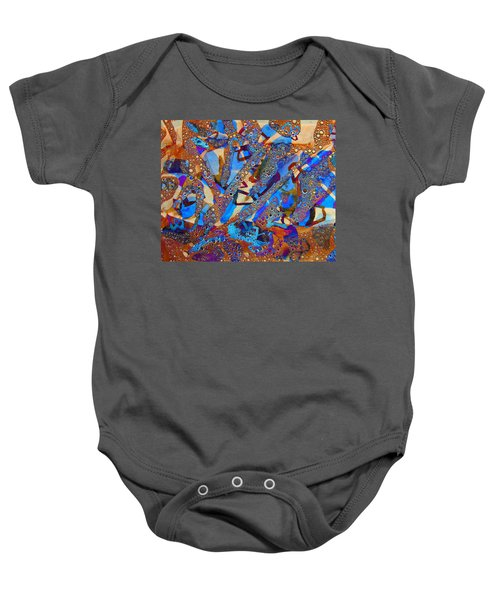 Clamor For Klimt Baby Onesie