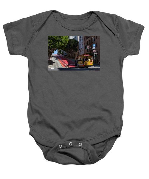 Clang Clang Goes The Cable Car Baby Onesie