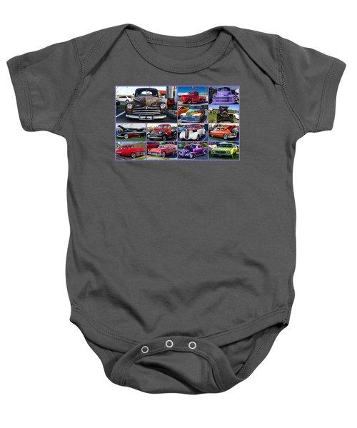 Classic Cars Baby Onesie