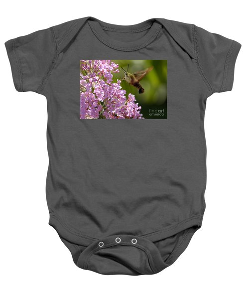 Clearwing Pink Baby Onesie