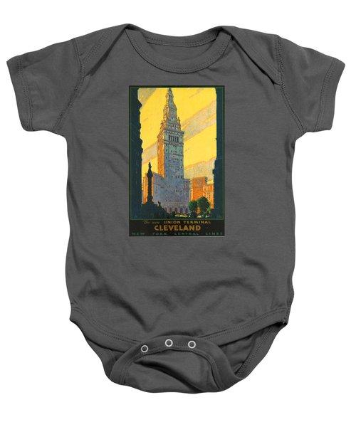Cleveland - Vintage Travel Baby Onesie
