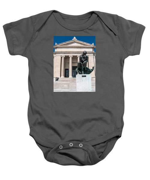 Cleveland Museum Of Art, The Thinker Baby Onesie