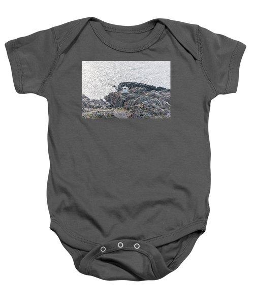 Cliffs At Kullaberg Baby Onesie