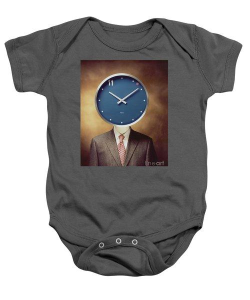 Clockhead Baby Onesie