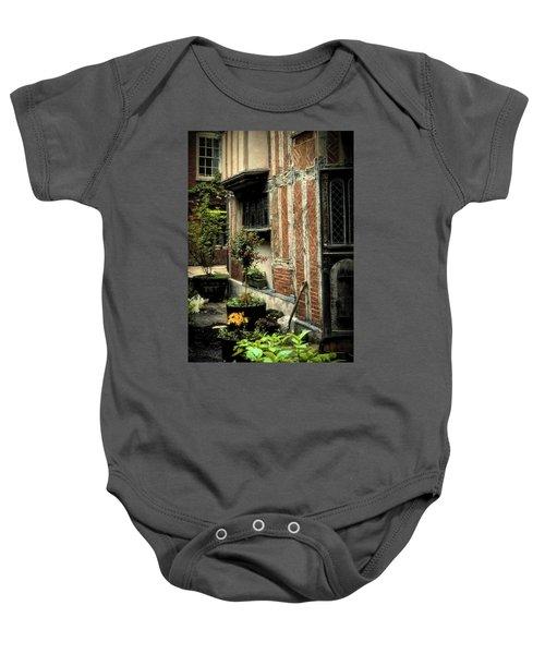 Cloister Garden - Cirencester, England Baby Onesie