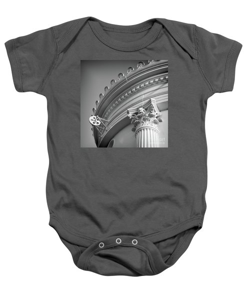 Closeup Of Lighthouse  -58750 Baby Onesie