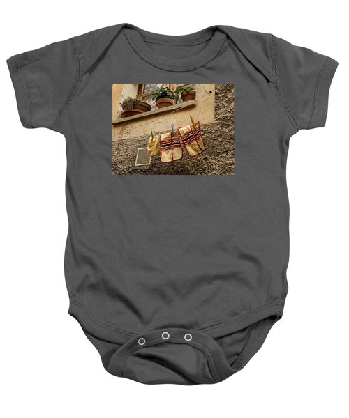 Clothesline In Biot Baby Onesie