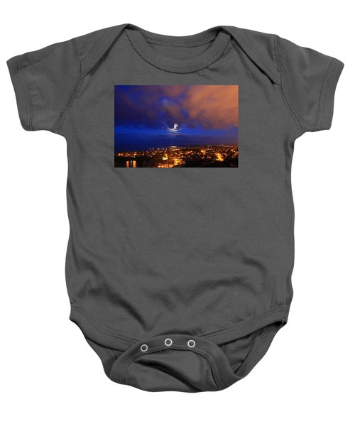 Clouded Eclipse Baby Onesie